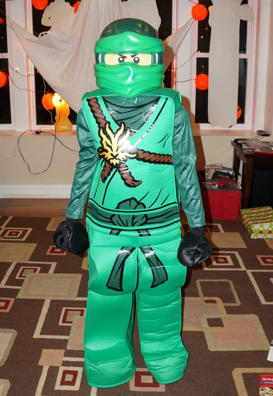 We received LEGO NINJAGO Lloyd Prestige Costume! The quality of this costume is amazing. Costumes have come such a long way. I remember when I was a kid ... & Evan and Laurenu0027s Cool Blog: 9/29/16: LEGO NINJAGO Costumes from ...