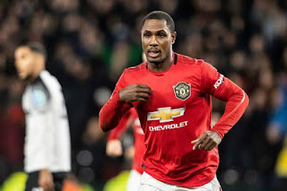 Pictures: Odion Ighalo in Man United training after sealing loan extension