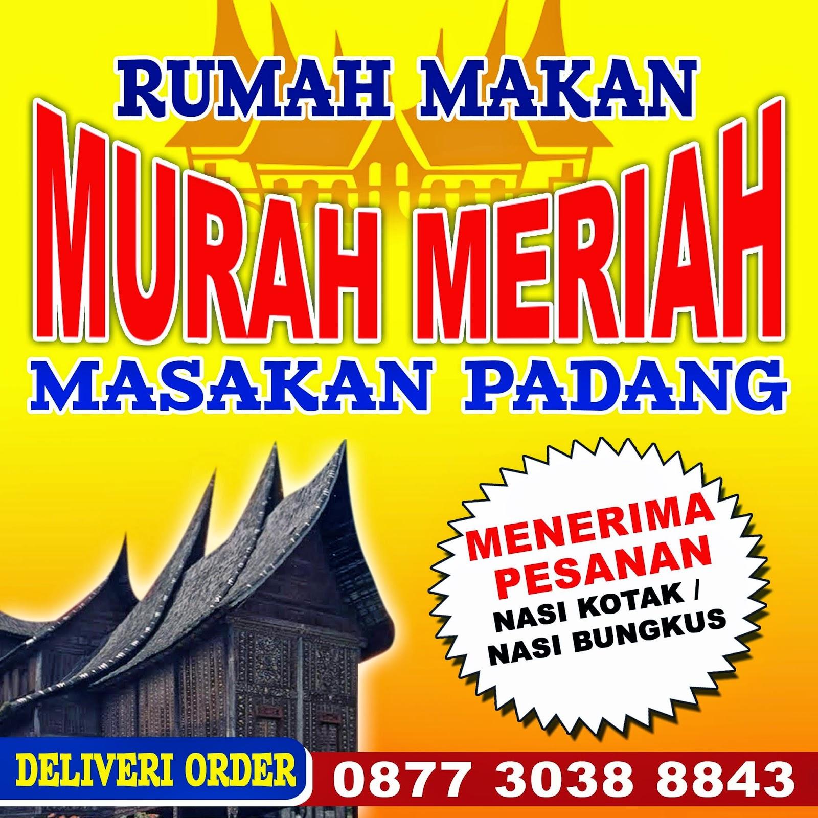 Download Lagu Goyang Nasi Padang 2: Gambar Spanduk Rumah Makan Padang