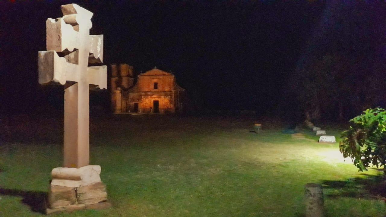 cruz missioneira em São Miguel das Missões