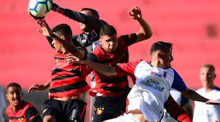 Sport perde na estreia do campeonato de aspirantes