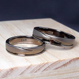 cincin perak black