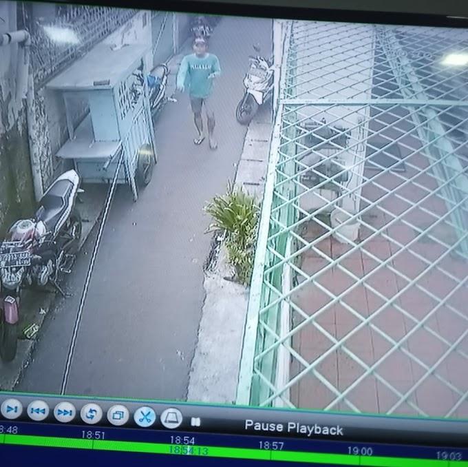 Pencuri Sepeda Motor Terekam CCTV, Saat Beraksi di Wilayah Duri Utara