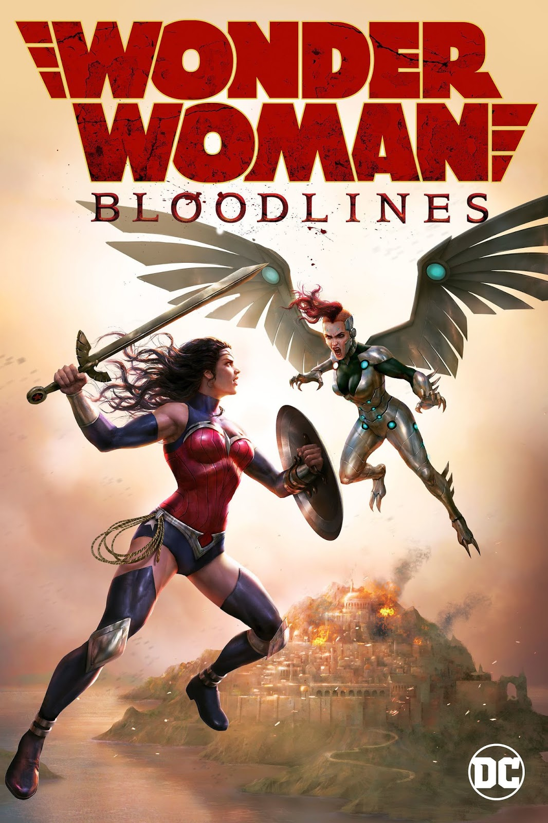 Wonder Woman: Bloodlines [2019] [DVDR] [NTSC] [Latino]