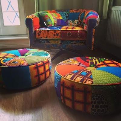 Ankara Inspired Home Decoration Ideas