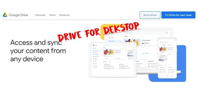 Google Drive For Dekstop