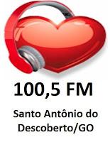 Rede do Coração FM - Santo Antônio do Descoberto/GO