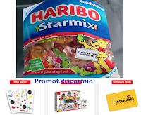 Logo Concorso Haribo: ''Dai voce al bambino che è in te'' e vinci soggiorno a Legoland, cover e Nintendo Switch