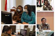 Gubernur Olly dan Ibu Rita Ikuti Rakor Virtual Perubahan Perilaku Baru Masa Pandemi Covid-19