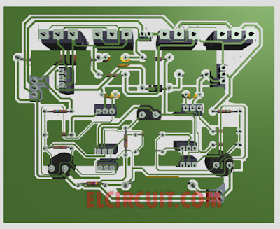 PCB Layout 500W Power AMplifier