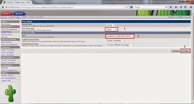 Cara Install Cacti 0.8.8 di Centos 6.5