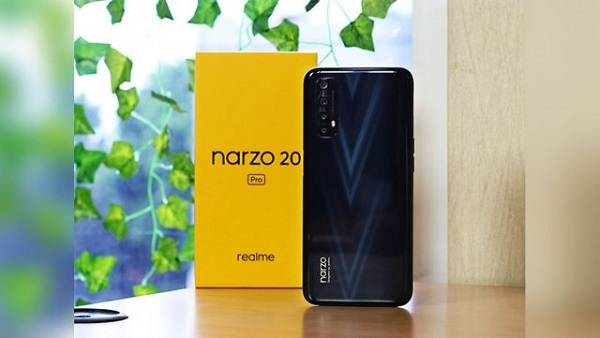 Realme Narzo 20 Pro With Super Fast Charging