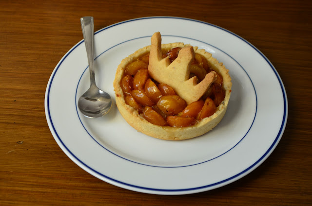 Tartelettes pâte sablée à la mirabelle