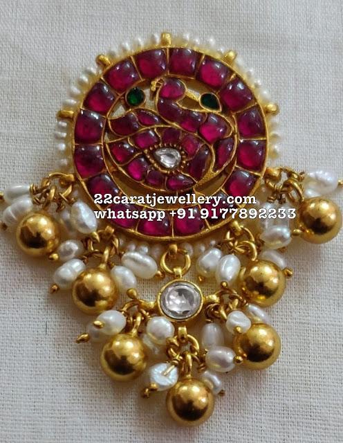 925 Silver Kundan Pendants Affordable