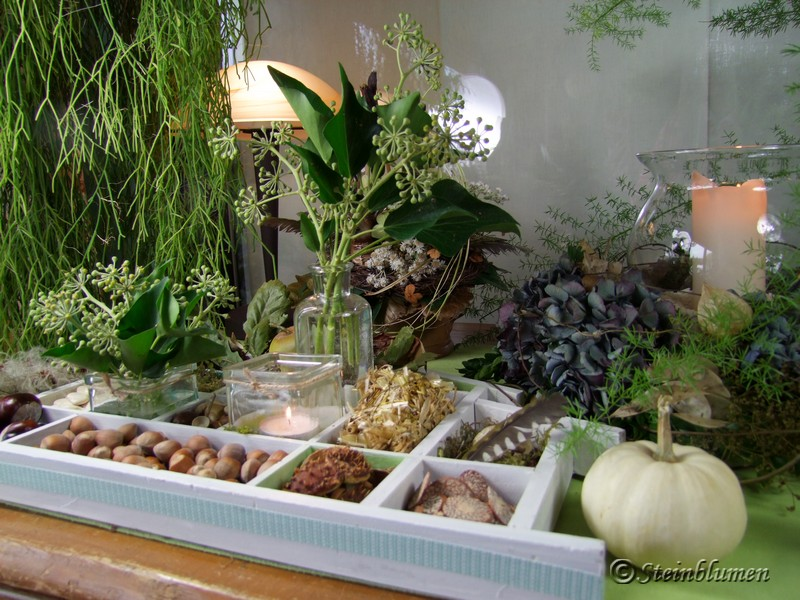 Setzkasten dekorieren