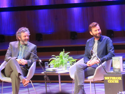 photo of Michael Sheen (L) and David Tennant (R)