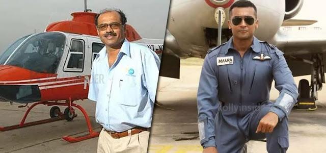 Air Deccan founder praises Suriya's 'Soorarai Pottru'