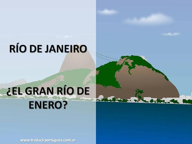 rIO DE JANEIRO, ORIGEN, NOMBRE, CIUDAD, BRASIL