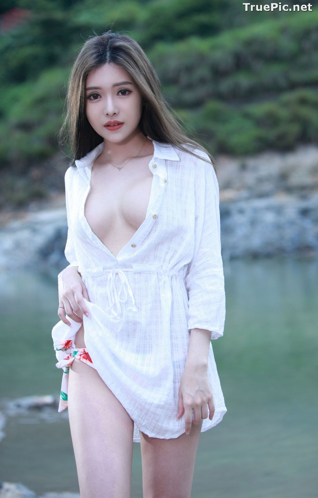 Image Taiwanese Model - 莊舒潔 - Sexy and Beautiful Big Eyes Girl- TruePic.net - Picture-8