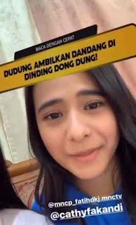 Profil Cathy Fakandi Pemeran Chelsea DI Fatih Kampung Jawara