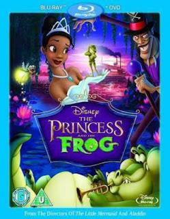 The Princess And The Frog (2009)  Hindi Dual Audio Movie 130Mb hevc BRRip