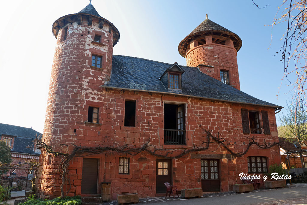 Torres de Collonges la Rouge, Francia