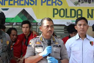 Oknum Karyawan Swasta, Tersangka Curanmor di Pasar Sindu Ditangkap Pihak Kepolisian