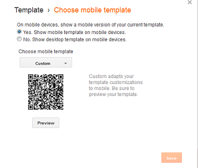 blogger mobile template