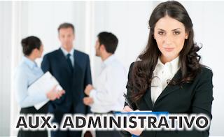 Vaga de Emprego para Auxiliar Administrativo - até o dia 05/08/2017