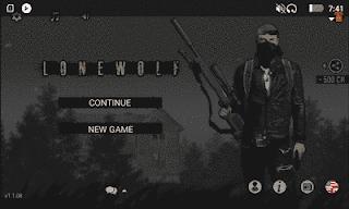 Tampilan depan Lonewolf