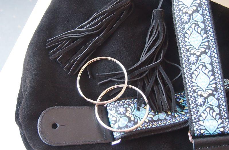 DIY Handtasche mit Gitarrengurt