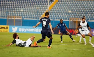 ملخص واهداف مباراة بيراميدز ووادي دجلة (1-1) الدوري المصري