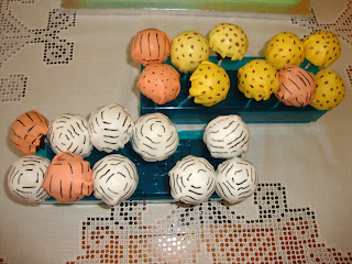 Cakepops estampado animal de mesa dulce Jungla