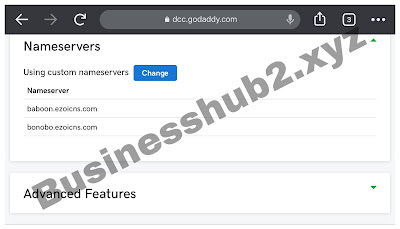 integrating bloggers site with Ezoic name server