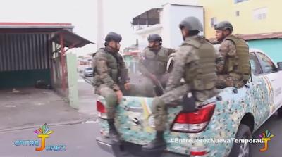 VÍDEO: Policía Nacional apresa a 20 personas durante paro en provincias del Cibao | @EntreJerez
