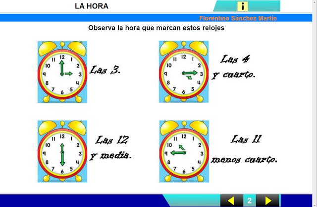http://cplosangeles.juntaextremadura.net/web/edilim/curso_2/matematicas/hora01/hora01.html