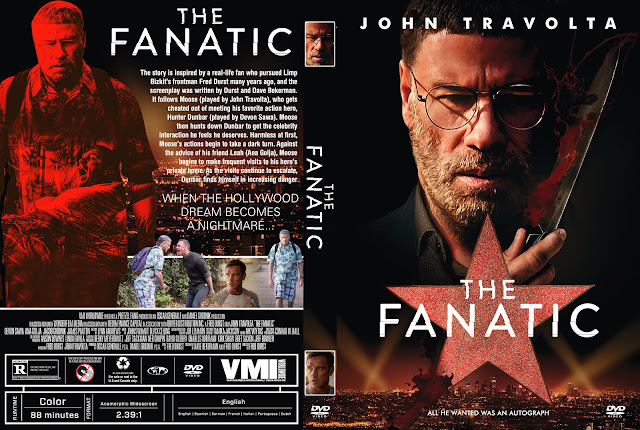 The Fanatic DVD Cover