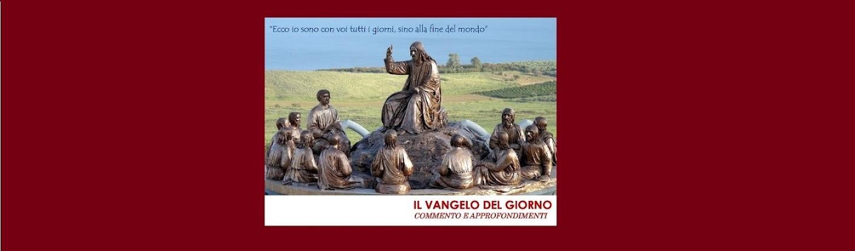 Vangelo Del Giorno Calendario Romano.Il Vangelo Del Giorno Commenti E Approfondimenti