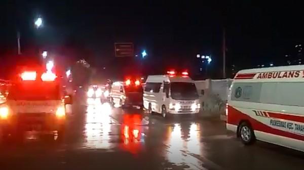 Antrean Ambulans di Wisma Atlet: Ada Peningkatan Pasien Masuk 100 Persen