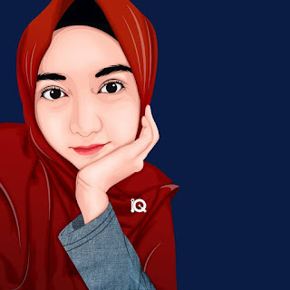 inspirasi vektor muslim fashion art