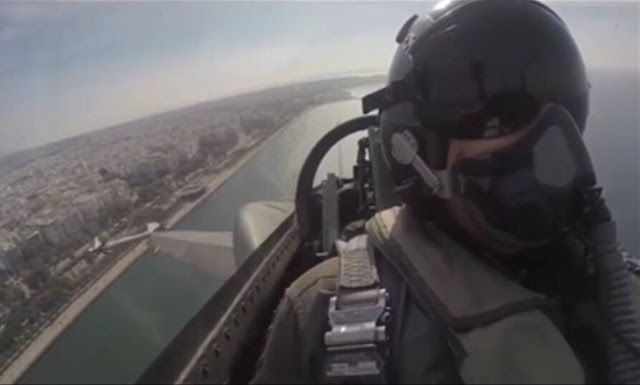 Το συγκινητικό μήνυμα πιλότου μαχητικού F-16 για την 28η Οκτωβρίου (βίντεο)