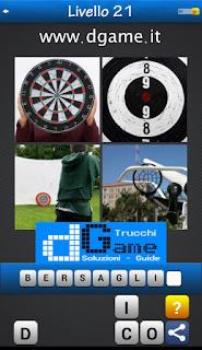 PACCHETTO 6 Soluzioni Trova la Parola - Foto Quiz con Immagini e Parole livello 21