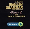 A Basic Grammer Vol. 2 by Saya U Thein Lwin