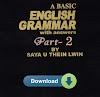 A Basic Grammer Vol. 2 by Saya U Thein Lwin