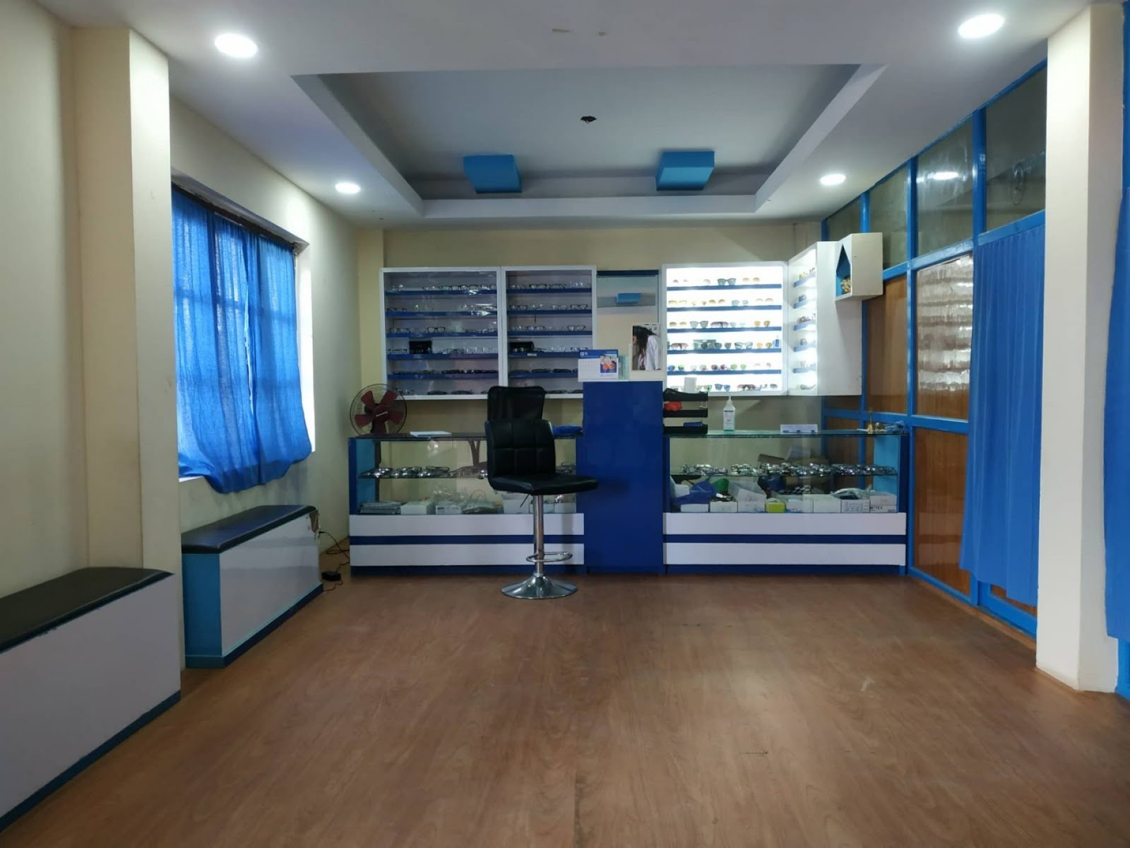 Optical shop of Drishti Eye Care, Tokha