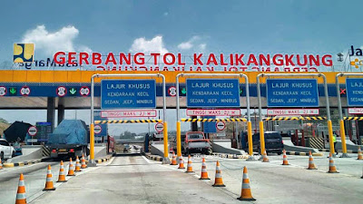 Gerbang Tol Kalikangkung-Semarang