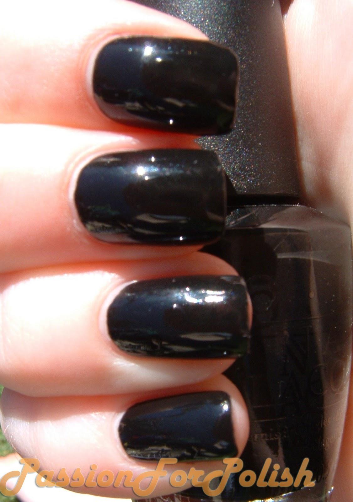 Passionforpolish Opi Black Onyx