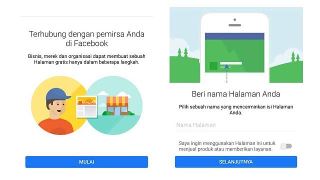 Cara Mudah Membuat Halaman Facebook di Hp Android