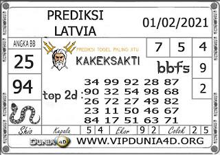 Prediksi Togel LATVIA DUNIA4D 01 FEBRUARI  2021