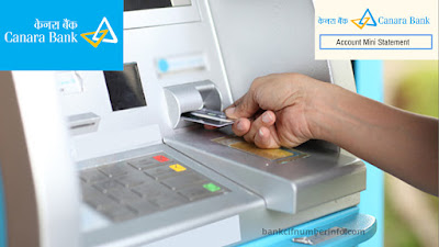 ATM to get Mini Statement